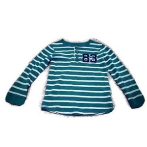 🦖🍭Carters  long sleeve  size 7 striped shirt